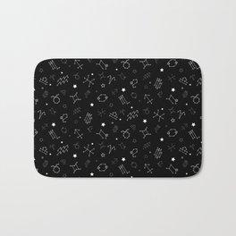 Zodiac Constellation Bath Mat