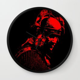 Ancient Roman Centurion Wall Clock