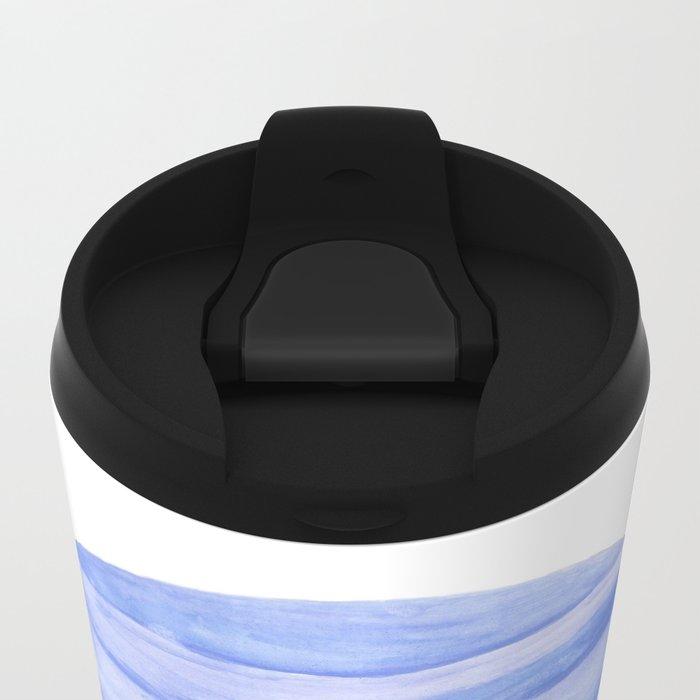 Neptune planet Metal Travel Mug