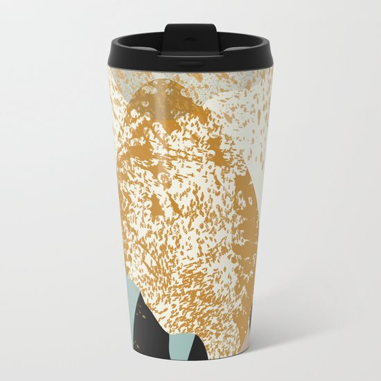 Volcano Metal Travel Mug