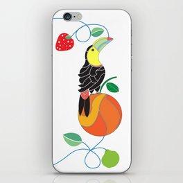 Kitchen toucan iPhone Skin