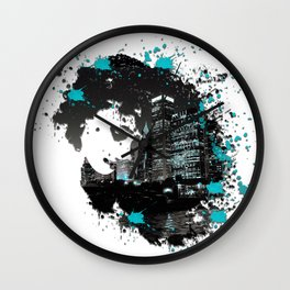 Chi City Thoughts Wall Clock