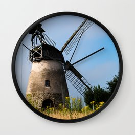North German windmill from old time Wall Clock