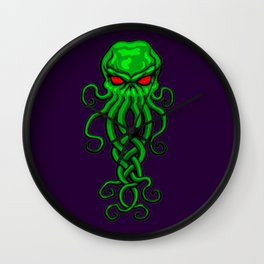 Celtic Cthulhu Wall Clock