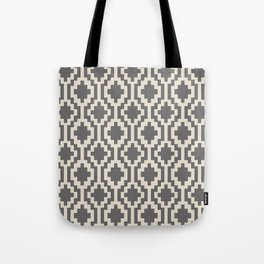 Mapuche Natural Black Tote Bag