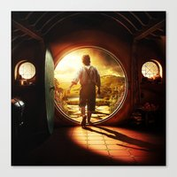 the lord of the rings Canvas Prints featuring THE LORD OF THE RINGS by September 9