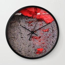 Smashed Wall Clock