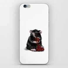 Rat eating its Heart. Guts spilling. iPhone & iPod Skin