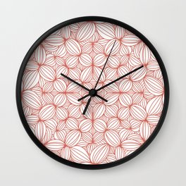 Oh you gotta terra cotta Wall Clock