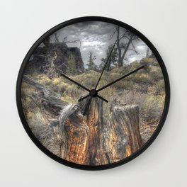 Come, Walk With Me in My Garden Wall Clock