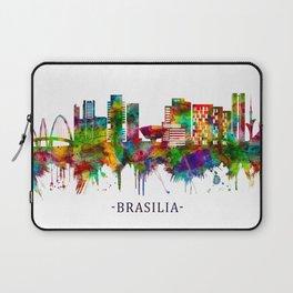 Brasilia Brazil Skyline Laptop Sleeve