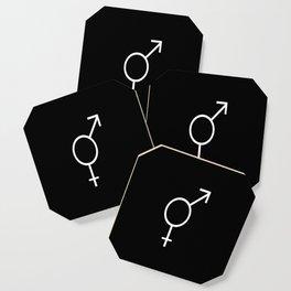 Symbol of Transgender VI Coaster