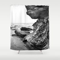 wild things Shower Curtains featuring the wild things by Joleia