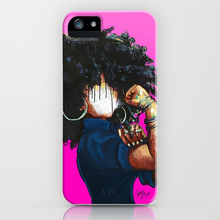 Naturally the Riveter PINK  iPhone Case