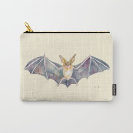 Watercolor Pallid Bat Carry-All Pouch
