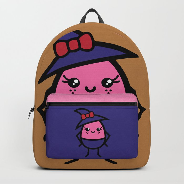 Creepy Egg Witch - Halloween Backpack