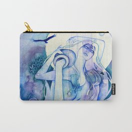 Goddess of Aquarius - An Air Elemental Carry-All Pouch