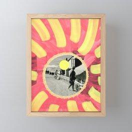 Checking Out Framed Mini Art Print
