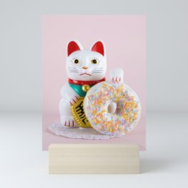 Maneki Donut Mini Art Print