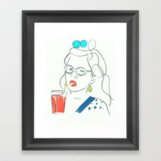 Dawn Wiener Framed Art Print