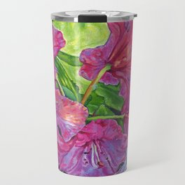 Pink Rhodo Travel Mug