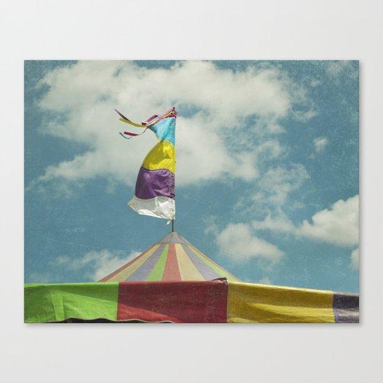Big Top #6 Canvas Print