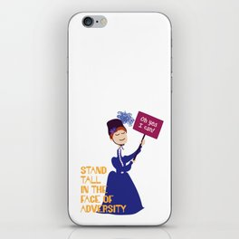 Stand Tall iPhone Skin
