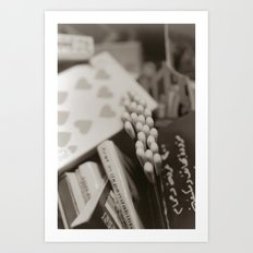 match books Art Print