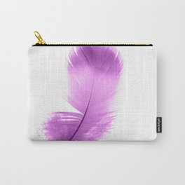 pink feather Carry-All Pouch