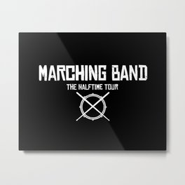 Marching Band Rocks Metal Print