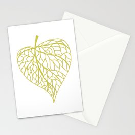 The Linden leaf Stationery Cards