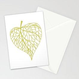 The Linden leaf Stationery Cards