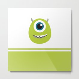 Monsters Inc. No. 8 Metal Print