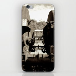Train carriages iPhone Skin