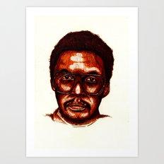 -4- Art Print
