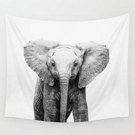 Baby Elephant Wall Tapestry