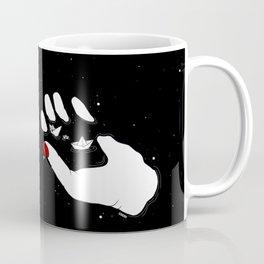 floating in space Coffee Mug