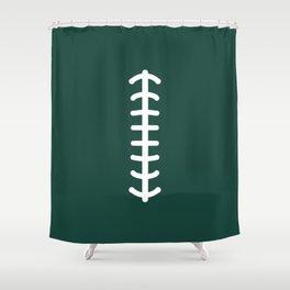 Football Green Shower Curtain