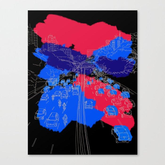 big city Canvas Print