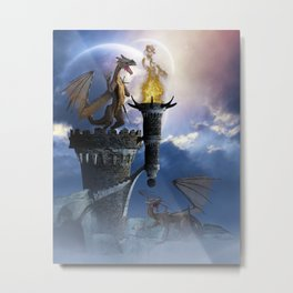 Dragon Land 2 Metal Print