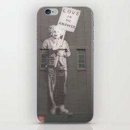 Einstein knows iPhone Skin