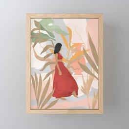 Lady Powers #illustration #Art Print Framed Mini Art Print