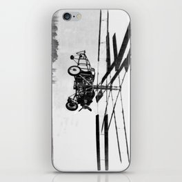 Helicopter Invention iPhone Skin