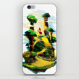 the house with baobabs iPhone Skin
