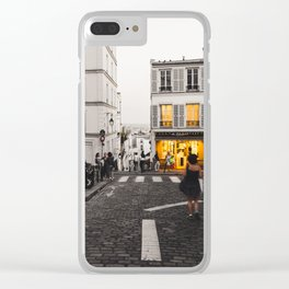 Lights On Clear iPhone Case