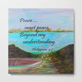 Peace Sweet Peace Metal Print