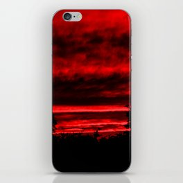 Sunset in Red iPhone Skin