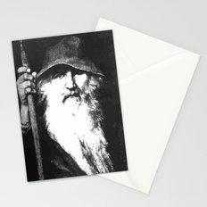 Scandinavian Mythology the Ancient God Odin Stationery Cards