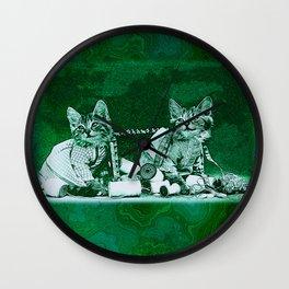 CatCurios 06E Wall Clock