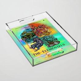 Mysticx & Magick: The Japanese Elemental Gods - Art Cover Acrylic Tray